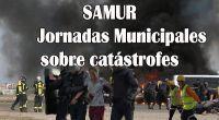 Jornadas Municipales sobre catástrofes , Simulacro del SAMUR en la Base Aérea de Cuatro Vientos