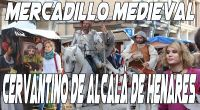 Don Quijote y Sancho Panza en el mercadillo medieval de Alcalá de Henares