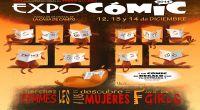 Expocomic 12, 13 y 14 de diciembre en el Pabellón de Cristal del recinto ferial de la Casa de Campo