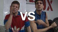 Batalla de tortazos XII congreso anual primera eliminatoria por Television Alternativa