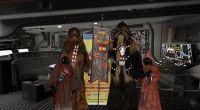 Los Wookie brothers visitan el Toy Market Plaza Aluche