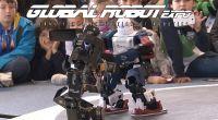 Combate de robots humanoides y paseo por  Global Robot Expo by Television Alternativa