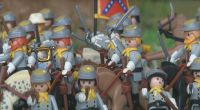Playmobil The Battle of Gettysburg  Clicks diorama
